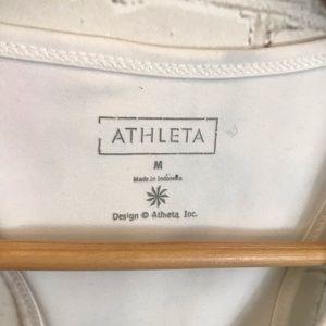 Athleta Tops - Athleta Animal Print Razor Back Tank Top Size M